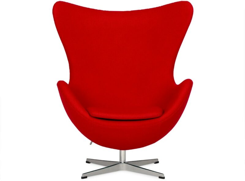 Egg chair in Red