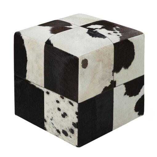 cowhide stool