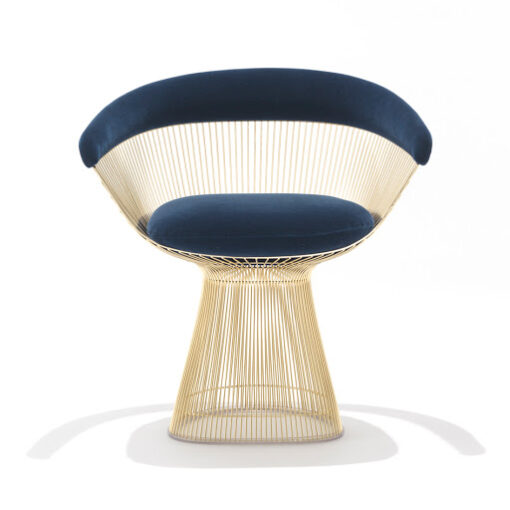 warren Platner Armchair gold