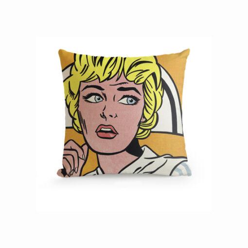 Roy Lichtenstein Throw Pillow A